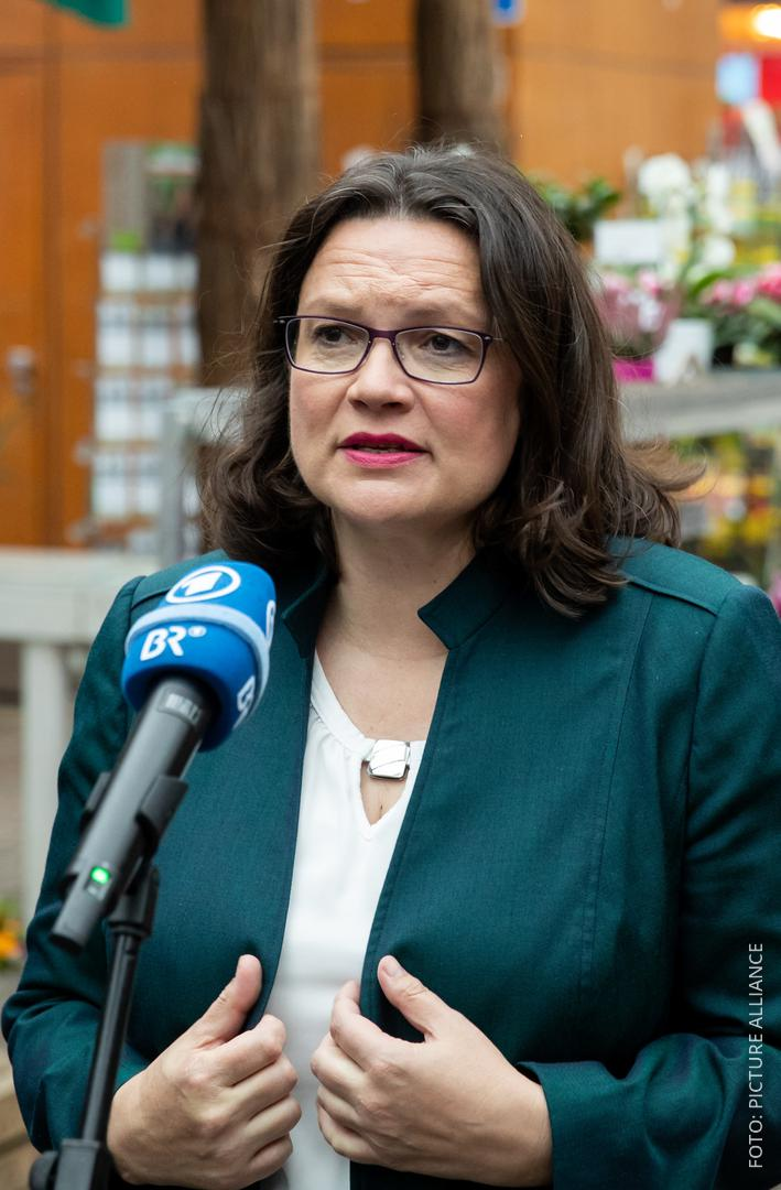 SPD-Chefin Nahles