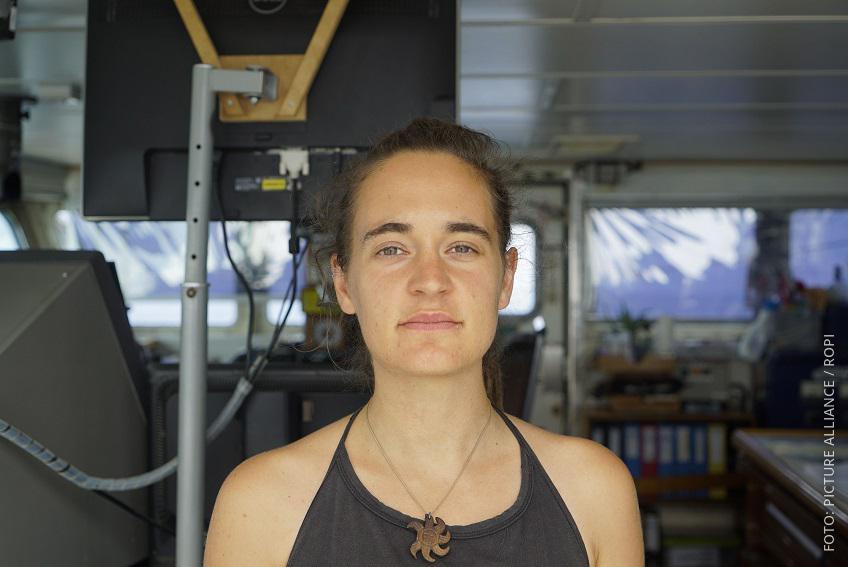 Seawatch-Kaitänin Carola Rackete