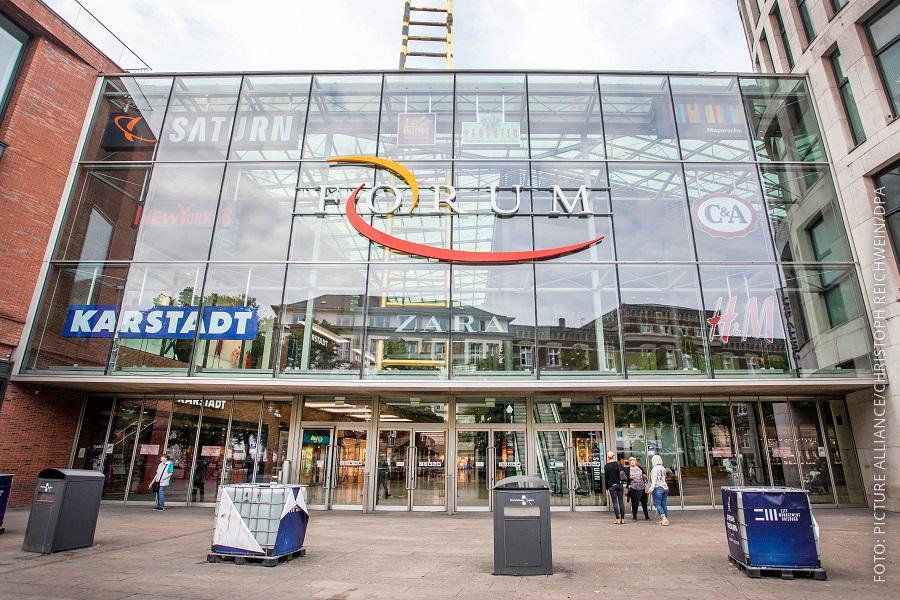 """Einkaufscentrum """"Forum"""" in Duisburg"""