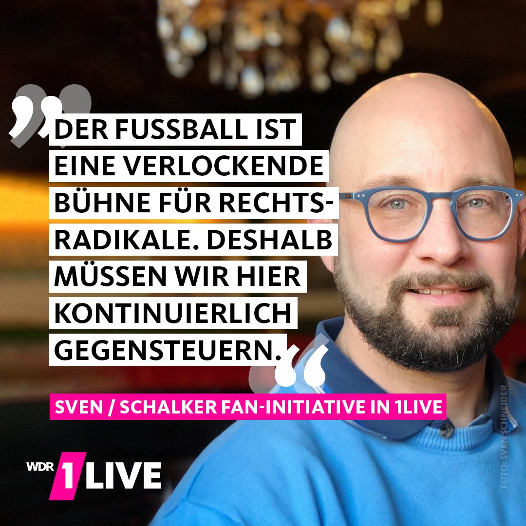 Ein Vertreter der Schalker Fan-Initiative e.V.