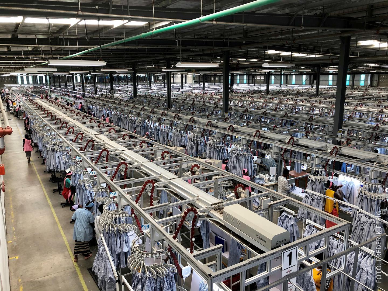 Bild von den Fabriken in Äthiopien