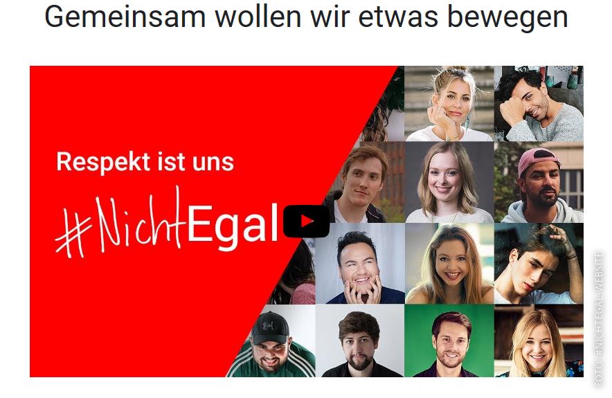 Website von #nichtegal