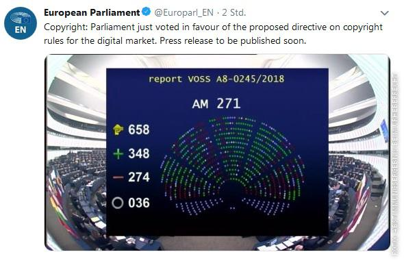 Twitter/European Parliament