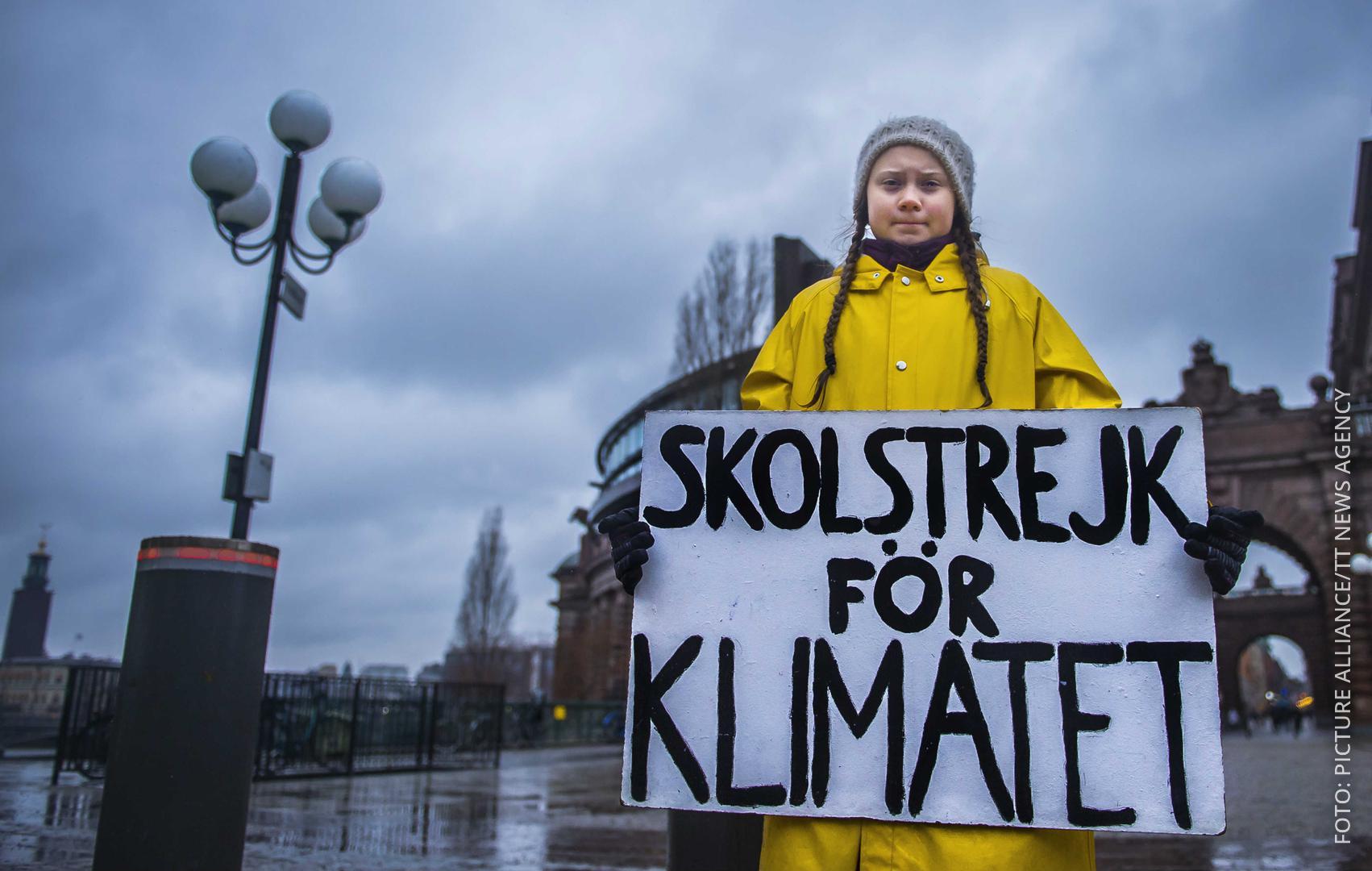15-Jährige Greta Thunberg protestiert für mehr Klimaschutz