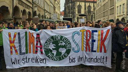 Klima-Demo in Münster