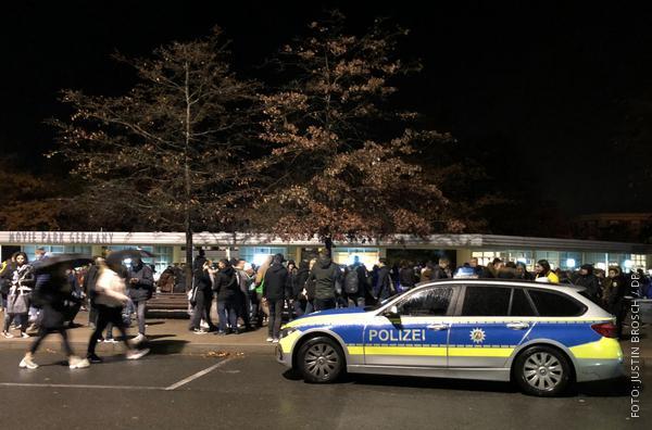 Polizeieinsatz im Movie Park