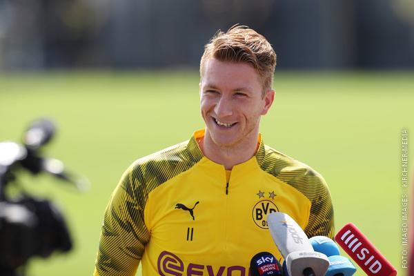 Marco Reus gibt Interview und freut sich