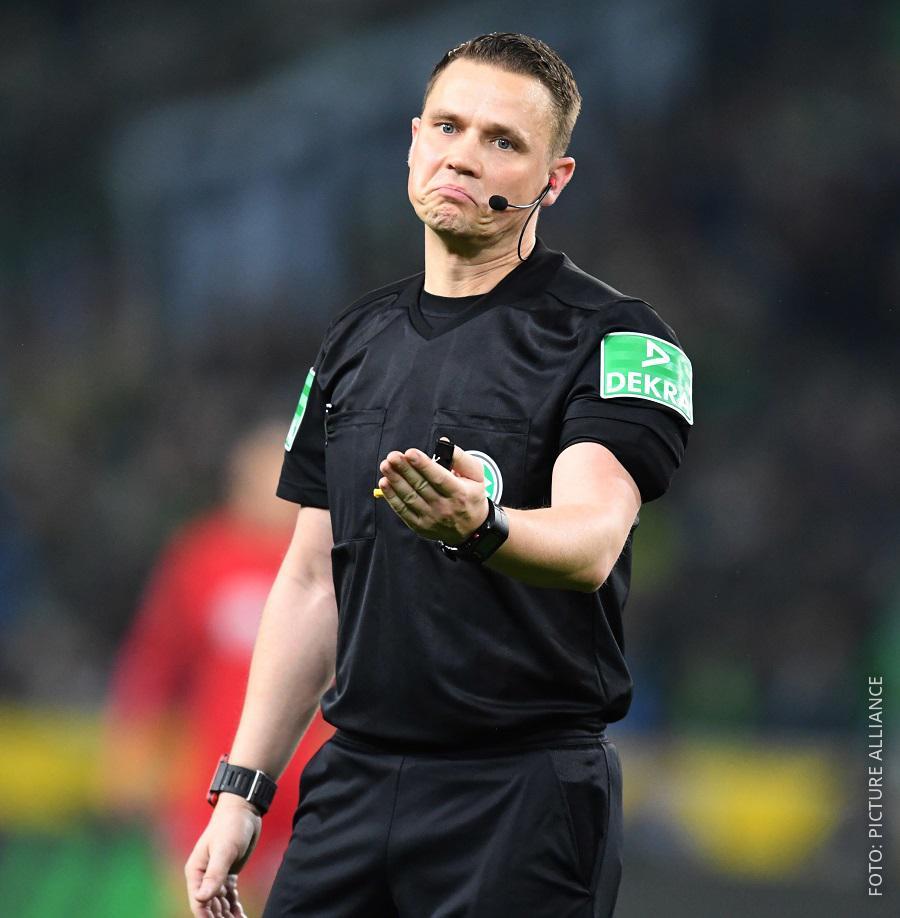 Schiedsrichter Robert Kampka