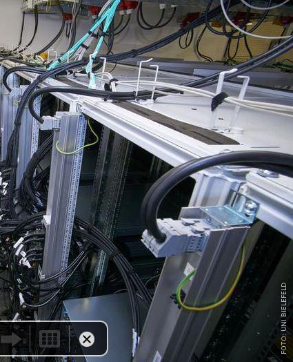 Superrechner der Uni Bielefeld