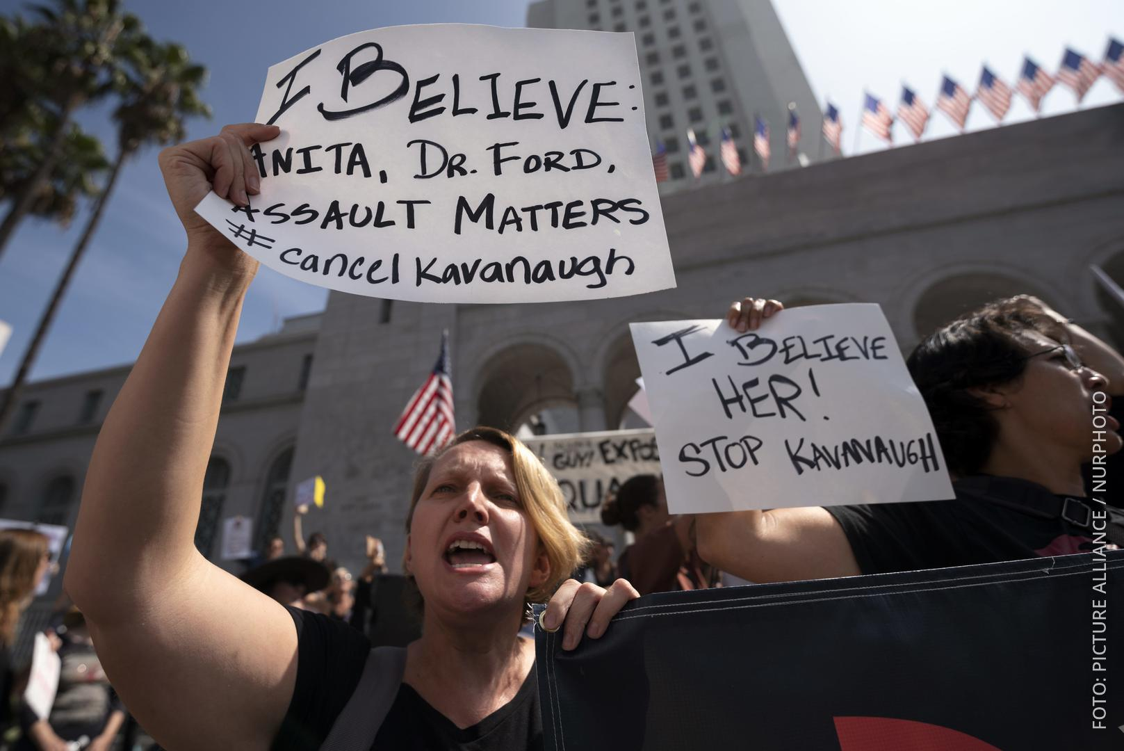 Demos in den USA gegen Bratt Kavanaugh