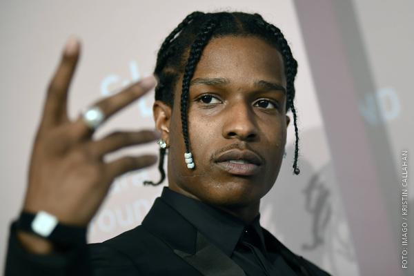 Der Rapper A$AP Rocky