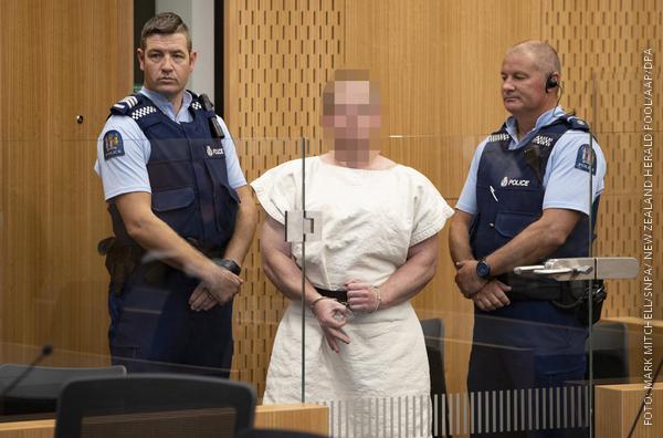 Mutmaßlicher Attentäter vor Gericht
