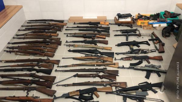 Waffen aus Haus in Iserlohn