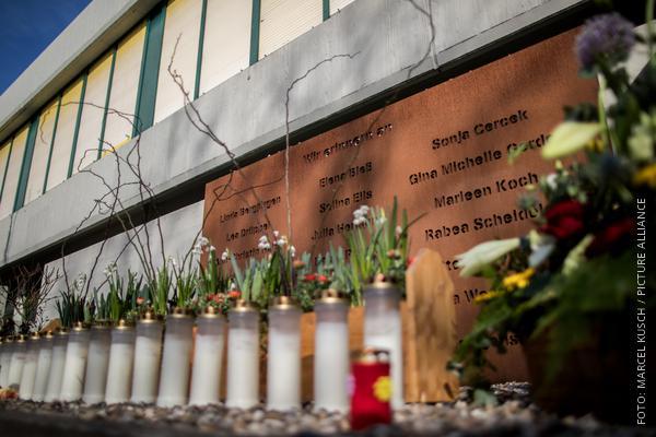 Denkmal für Germanwings-Opfer