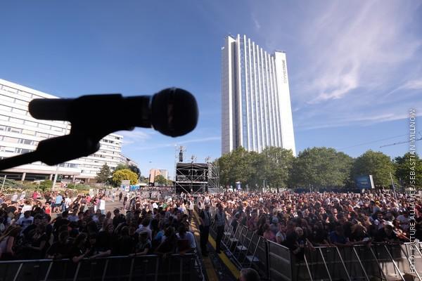 Publikum in Chemnitz beim Festival