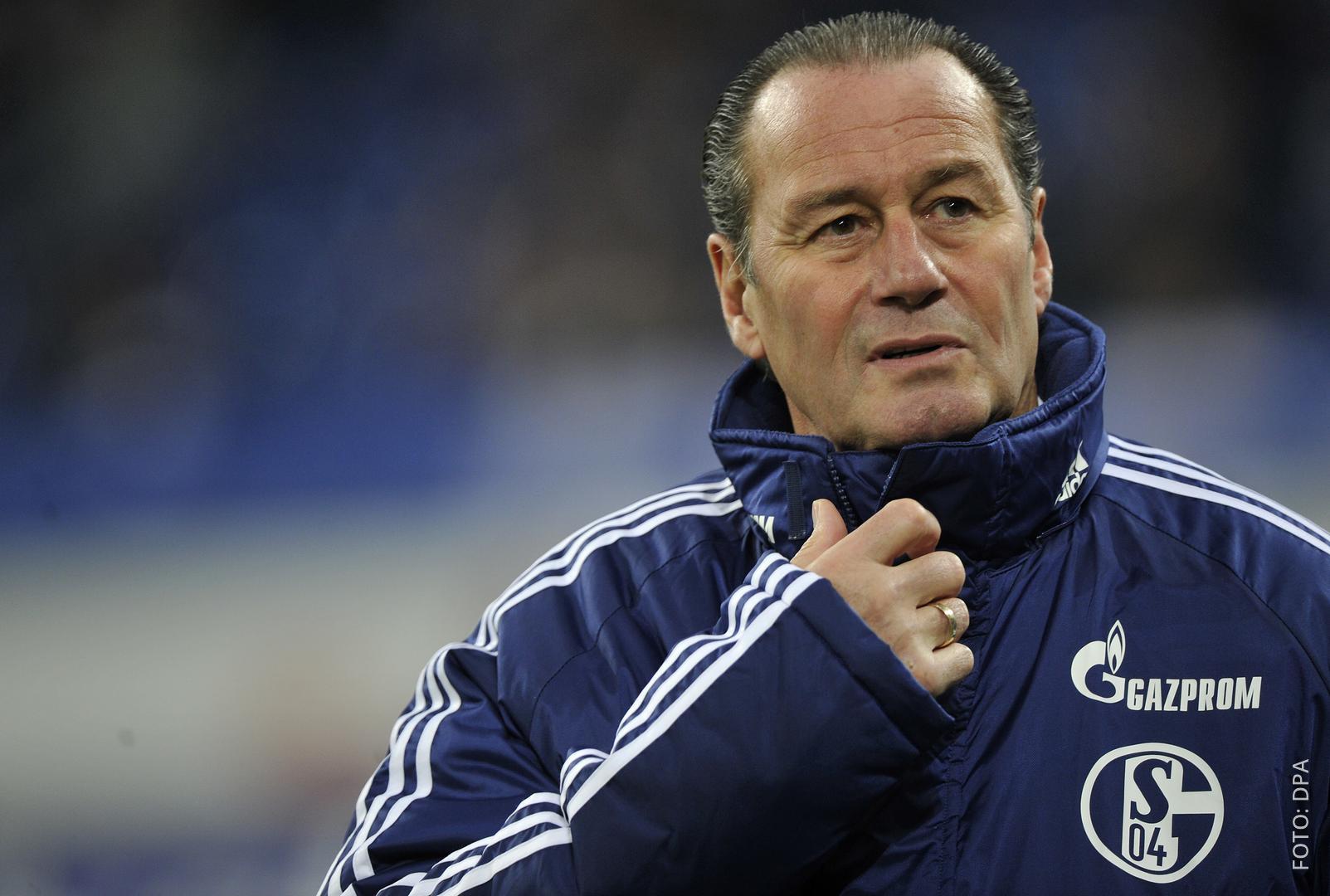 Der neue Schalker Trainer Huub Stevens