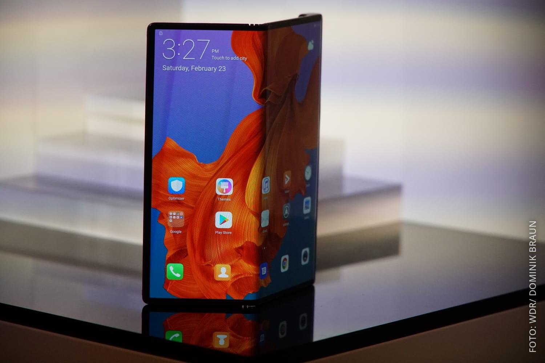 Huawei Mate X mit faltbarem Display