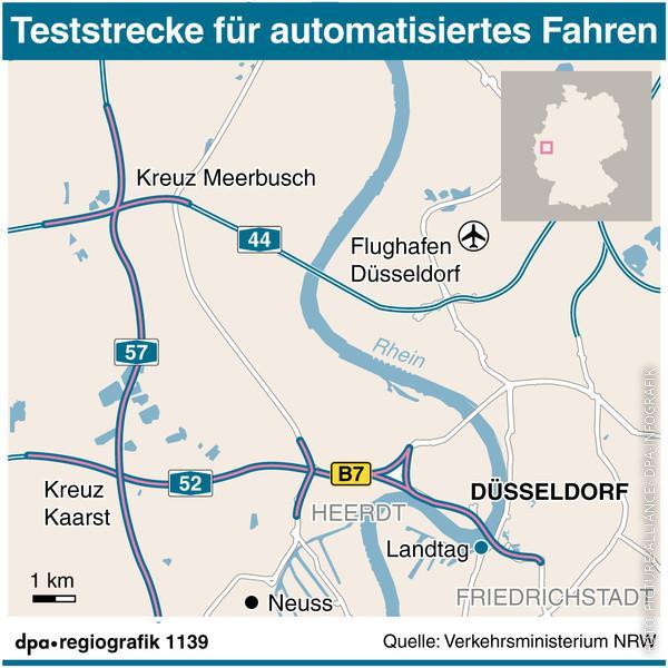 Teststrecke Düsseldorf