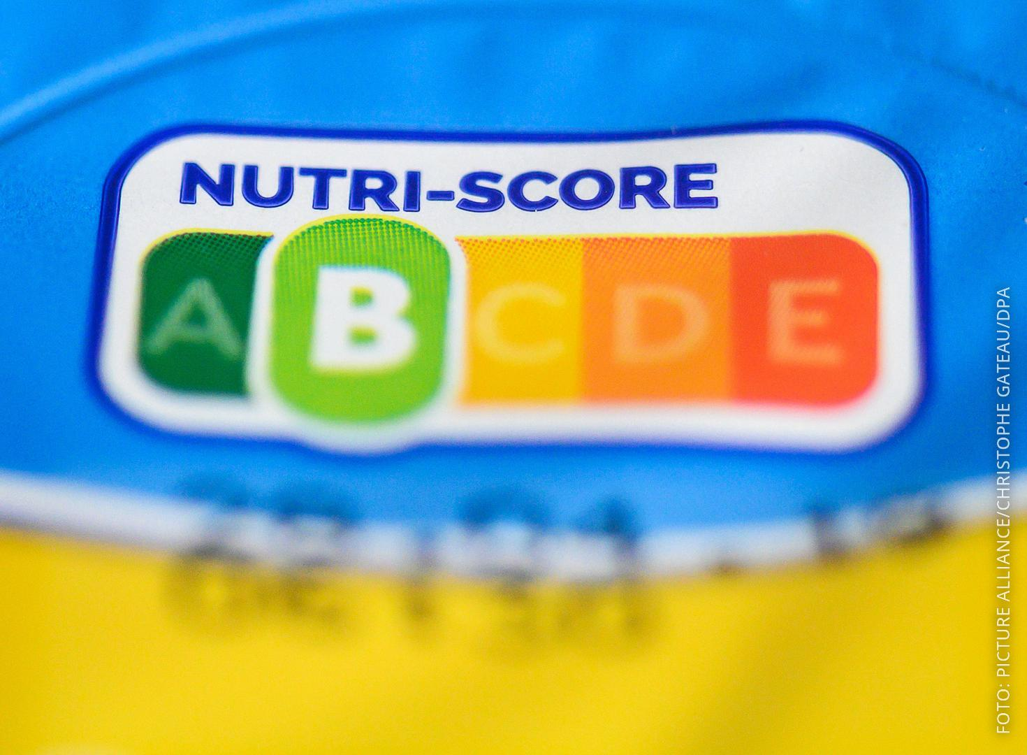 Lebensmittel-Kennzeichnung Nutri-Score