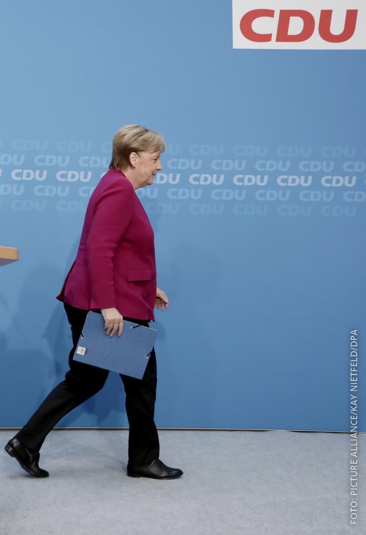 Merkel tritt ab