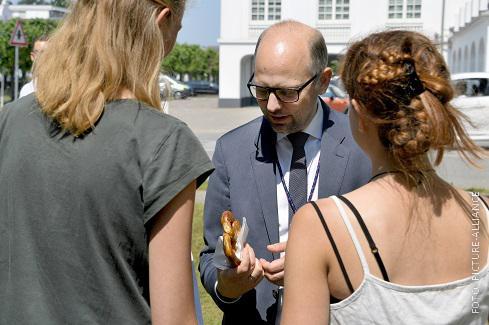 Justizminister Steffen