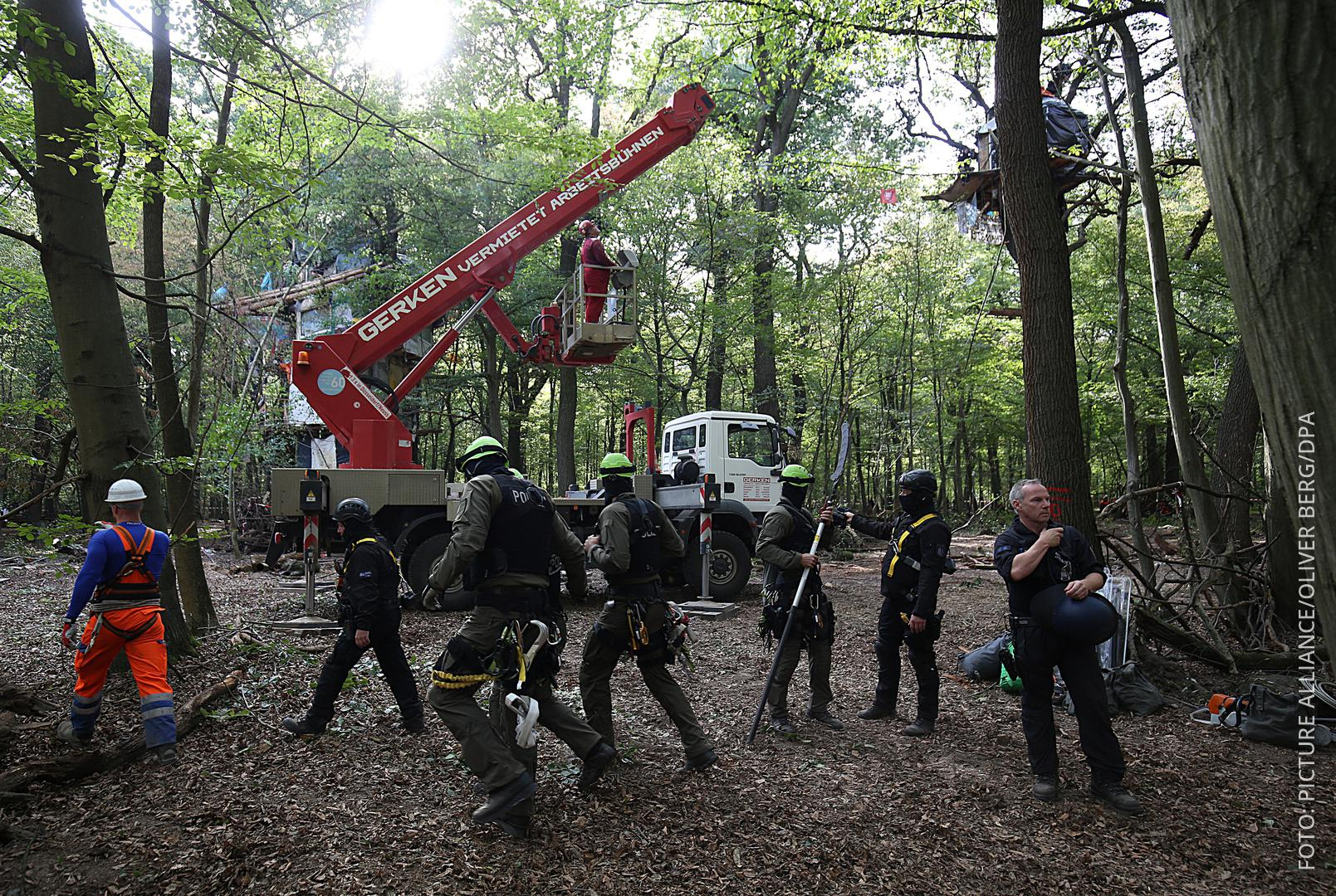 Hambacher Forst Räumung