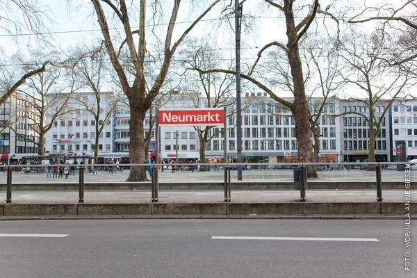 Der Neumarkt in Köln