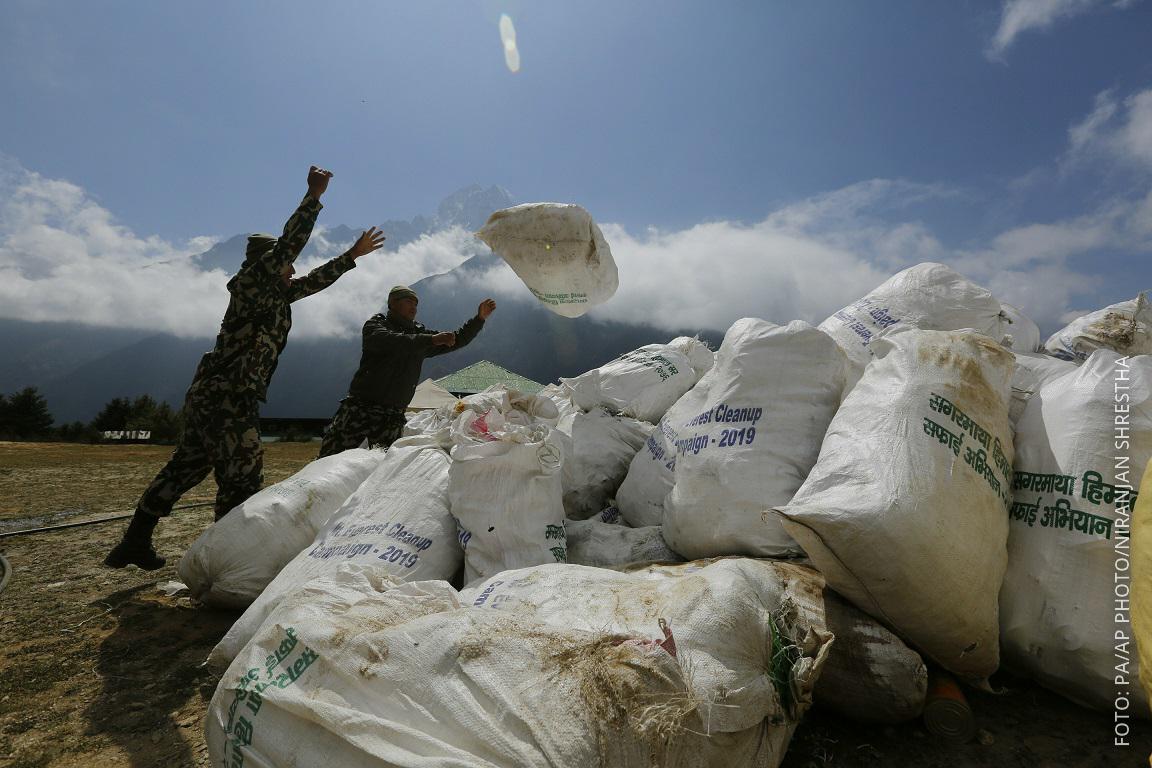 Müll am Mount Everest