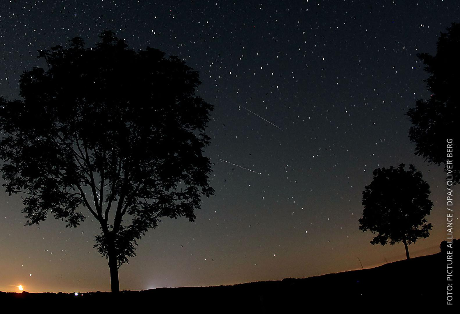 Sternenhimmel im Nationalpark Eifel
