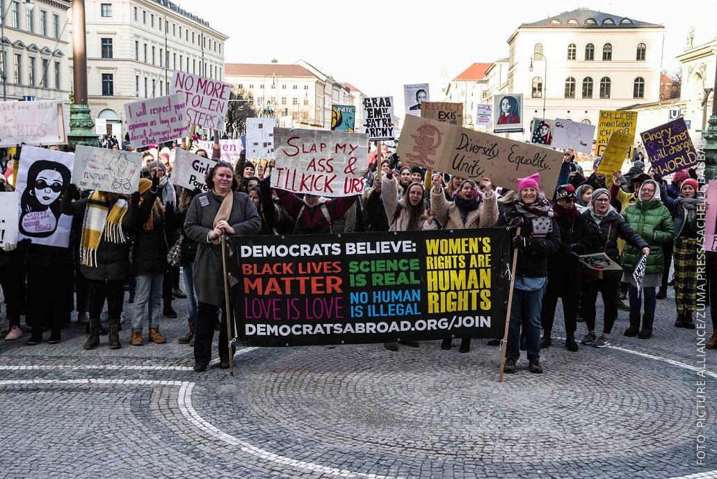 Women's March in München