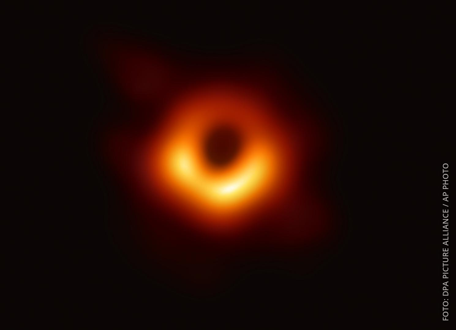 Schwarzes Loch Fotographie