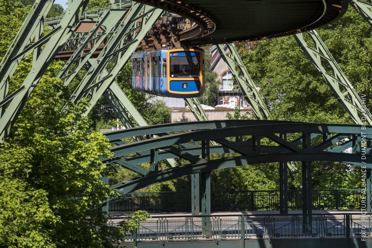 Die Schwebahn in Wuppertal