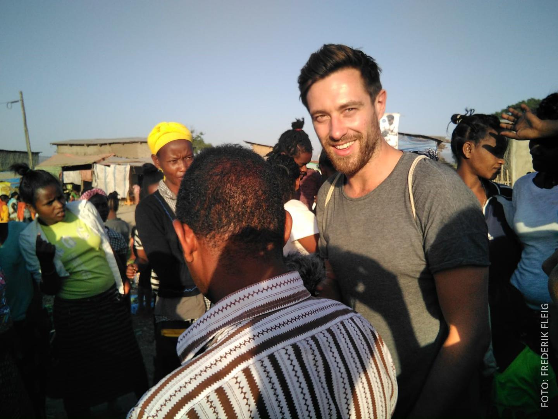 Frederik in Äthiopien