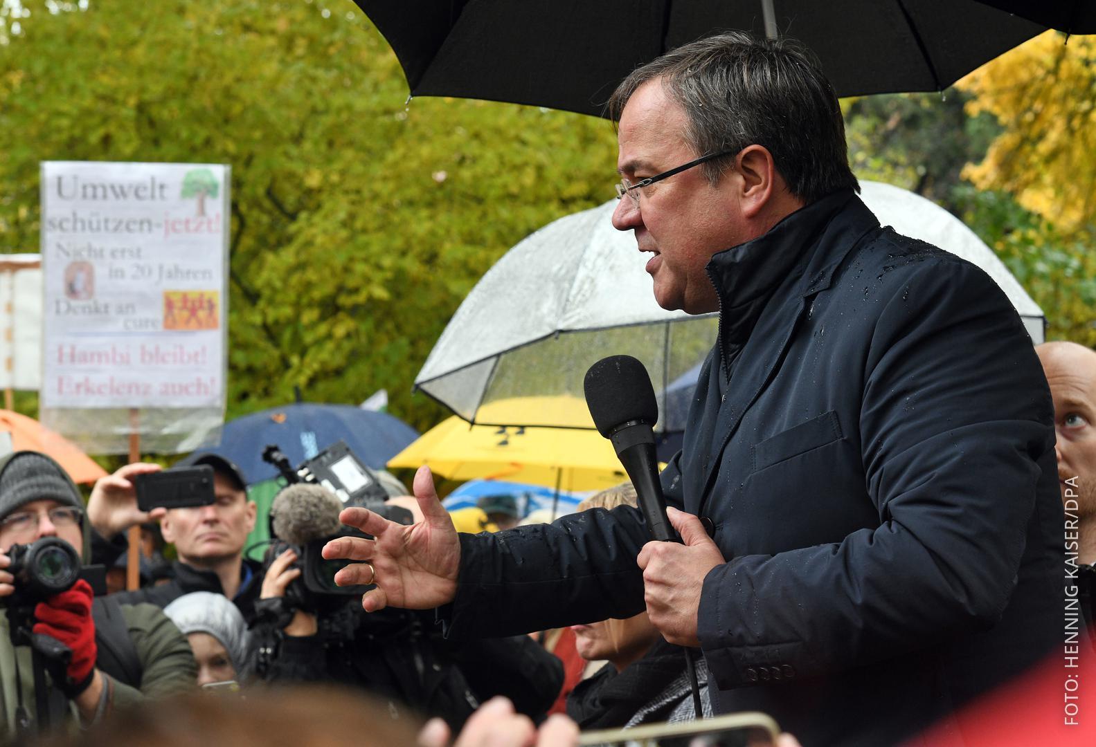 Armin Laschet NRW-Ministerpräsident Braunkohle