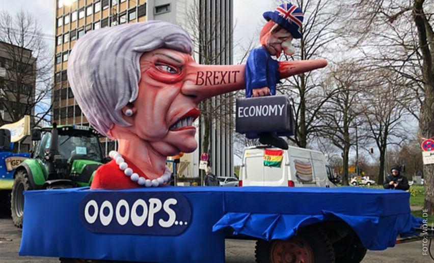 Mottowagen zum Brexit