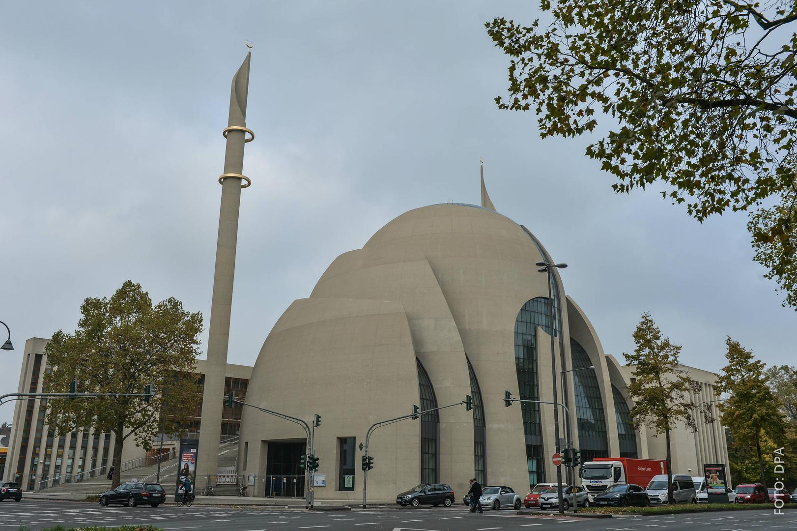 Die neue Zentralmoschee in Köln-Ehrenfeld