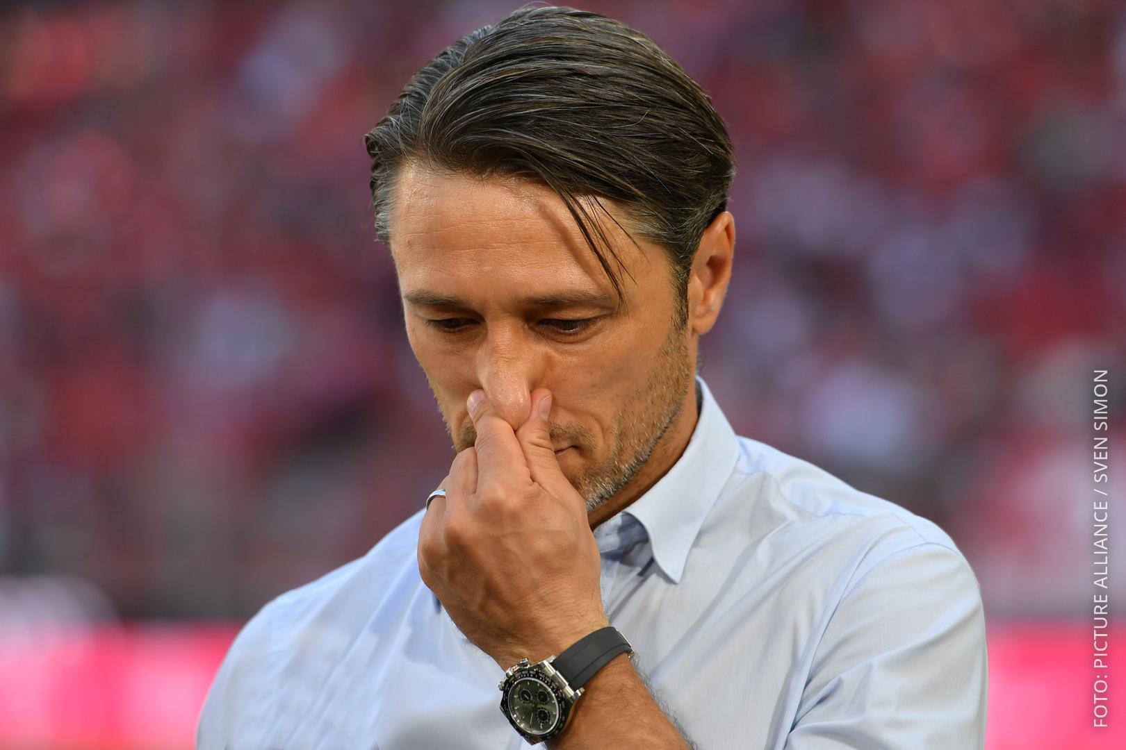 Bayern-Trainer Kovac reibt sich die Nase