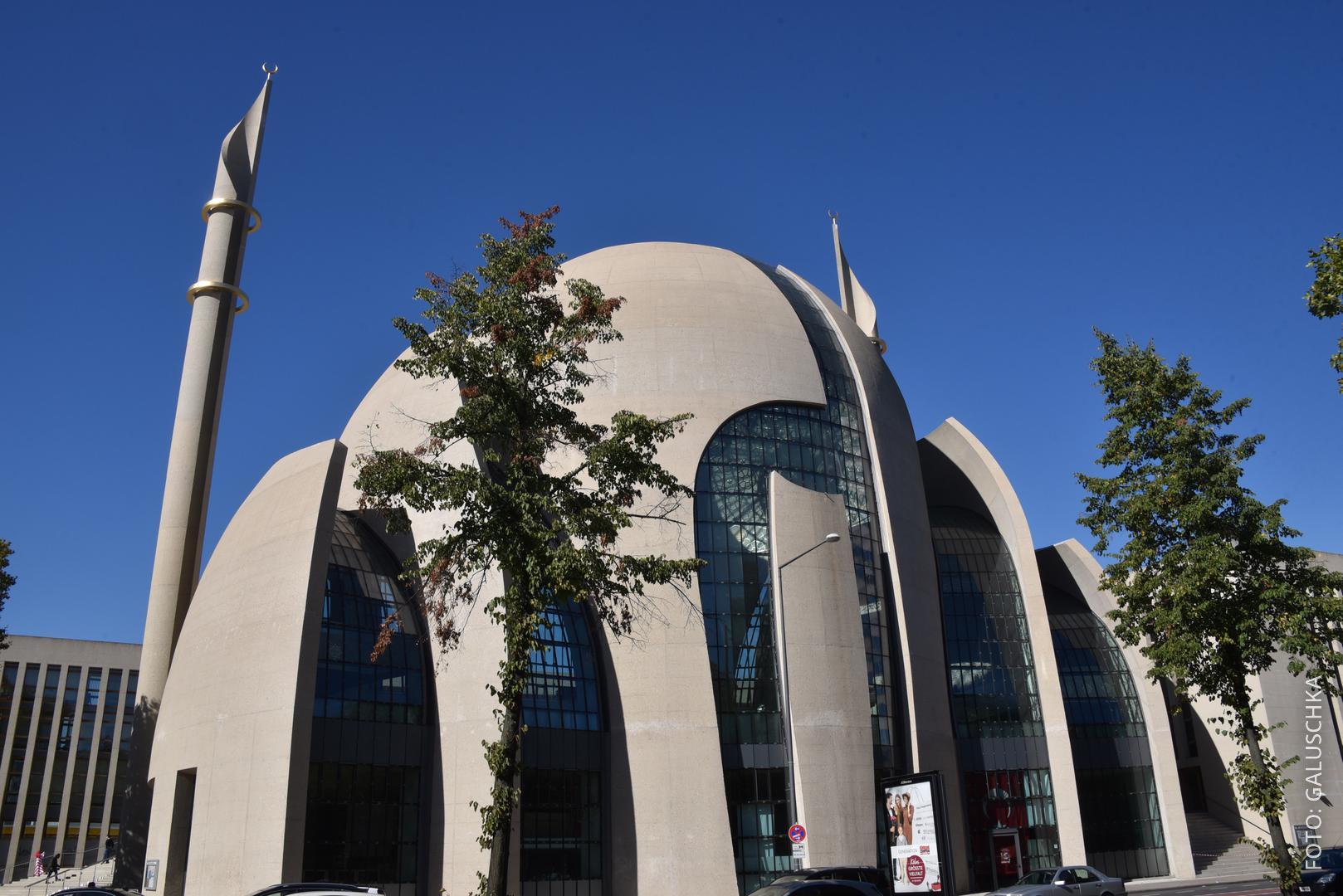 Die große Moschee in Köln