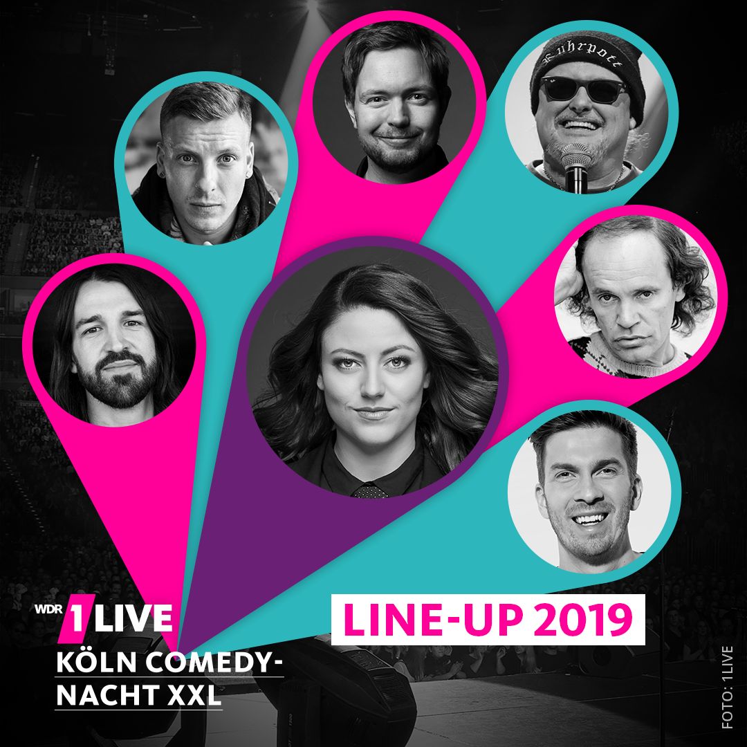 Teilnehmer 1LIVE Comedynacht XXL