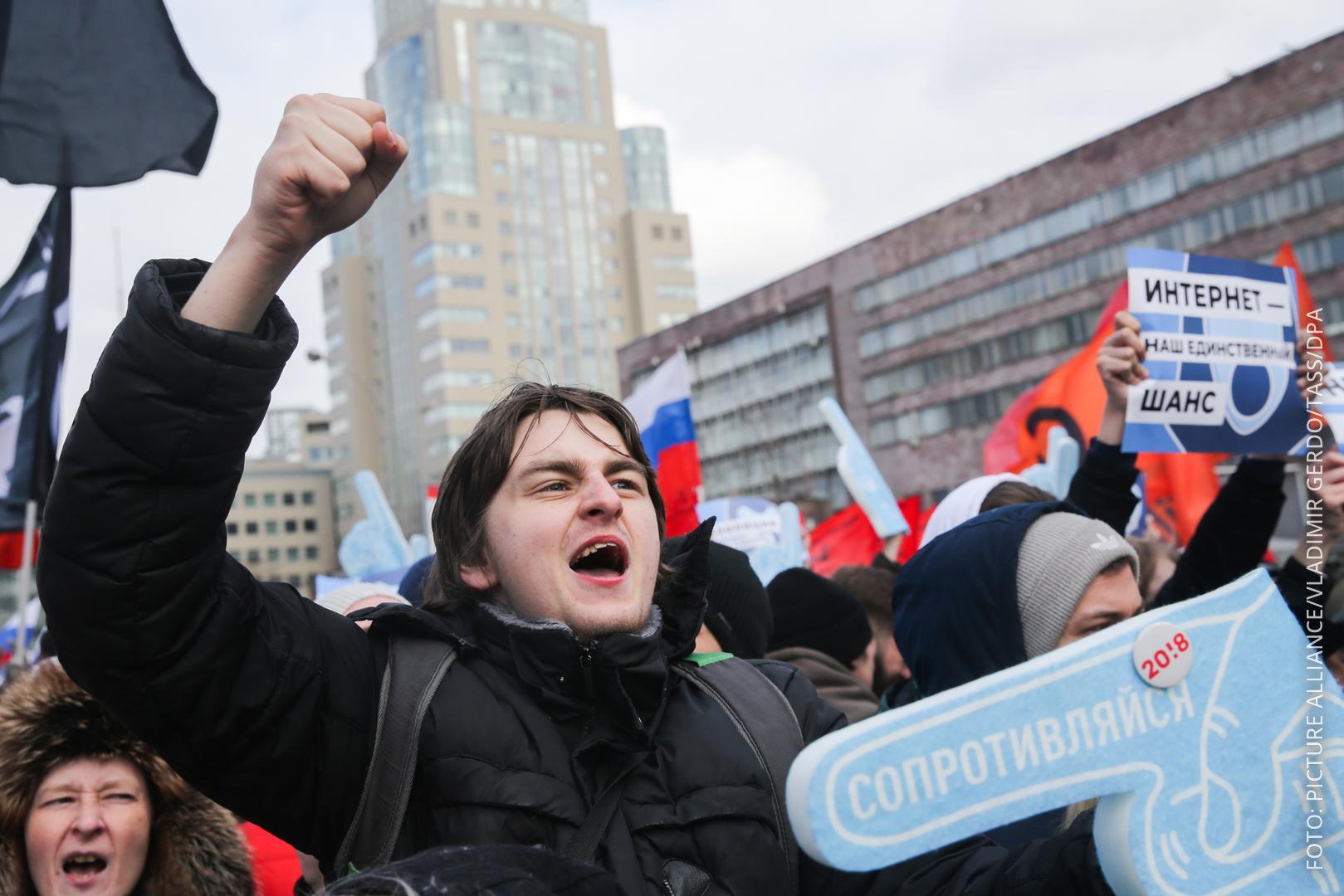 Demo in Russland
