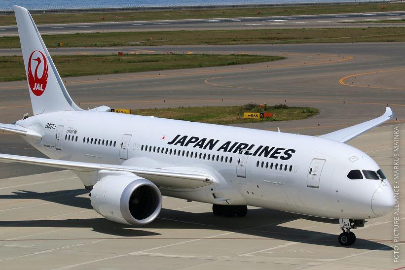 Flugzeug von Japan Airlines