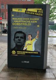 Plakat in Dortmund